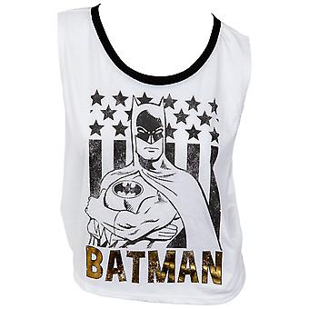 Batman Juniors Foil Graphic Tank Top