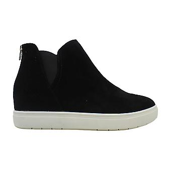 INC International Concepts Womens Tayla Suede Low Top Slip On Fashion Sneakers