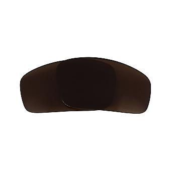 Polarized Replacement Lenses for Oakley Monster Pup Sunglass Anti-Scratch Brown