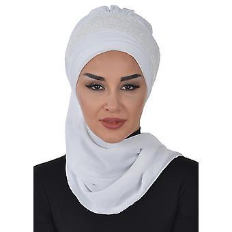 Celine - Praktisk Ett stykke Chiffon Turban Hijab