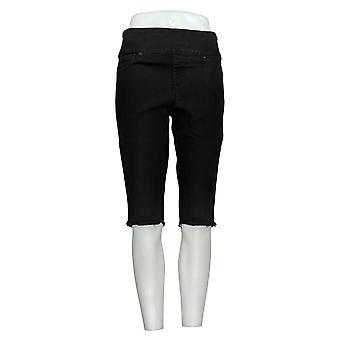 DG2 de Diane Gilman Women's Shorts Black Jean Shorts Cotton 724-452