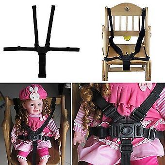 Baby 5 Point Safe Belt For Stroller Chair Pram Buggy Infant Seat Strap Harness