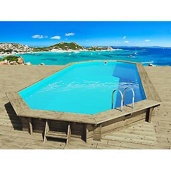 "Piscina de madera ""Ibiza"" - 8.57 x 4.57 x 1.31 m"