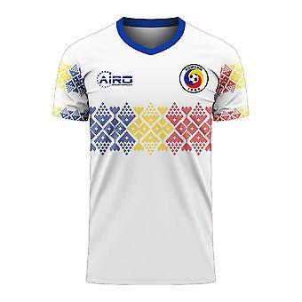 Romania 2020-2021 Away Concept Football Kit (Libero)