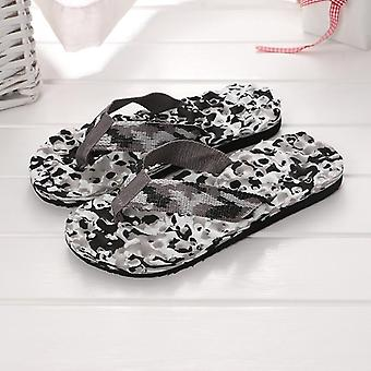 Mannen Vloer Platte Schoenen Indoor Summer Home Slipper