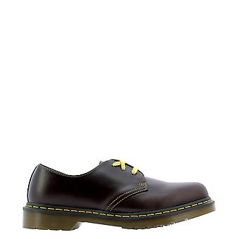 Dr. Martens Dms1461oxat26246601 Heren's Brown Leather Lace-up Schoenen