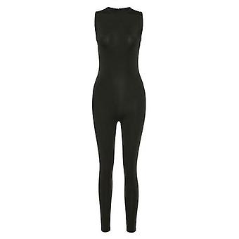 New Jumpsuit Women Elastic Hight Casual Fitness Sporty Rompers