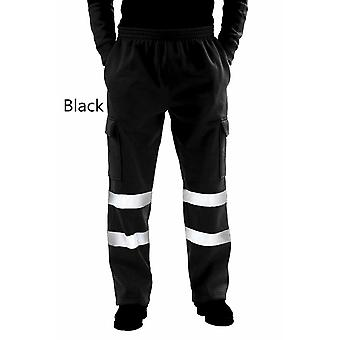 Mode Männer Road Work High Overalls Casual Pocket Work Casual Hose