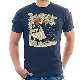 Holly Hobbie Naturen kleine Dinge Licht Text Männer's T-Shirt