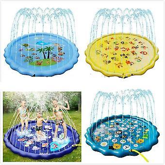 Piscina gonfiabile all'aperto, spiaggia, gioco sul prato - Divertente tappetino per l'acqua della fontana del cortile