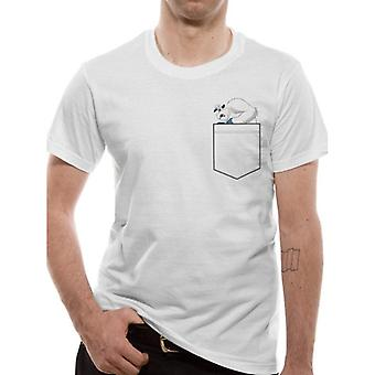 Smallfoot Adults Unisex Adults Migo Pocket T-Shirt