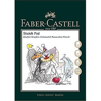 Faber-castell konst & grafisk skiss pad, a4 160 gsm pad av 40 ark a&g skiss pad