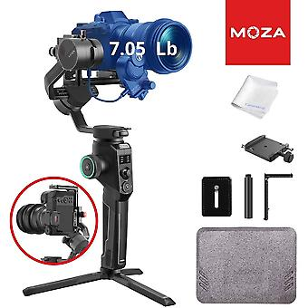 Moza aircross 2 3-axis gimbal stabilizer for compact cameras, fit for 4k bmpcc, canon eos r, sony a