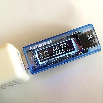 Lcd Usb Detector Usb Volt Curent Încărcător capacitate Priză și Redare Putere