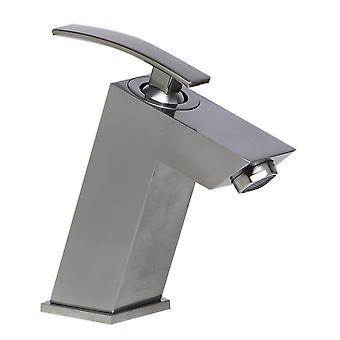 Alfi Brand Ab1628-Bn Brushed Nickel Single Lever Bathroom Faucet