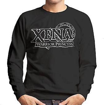 Xena Warrior Princess Vintage Logo Men's Sweatshirt