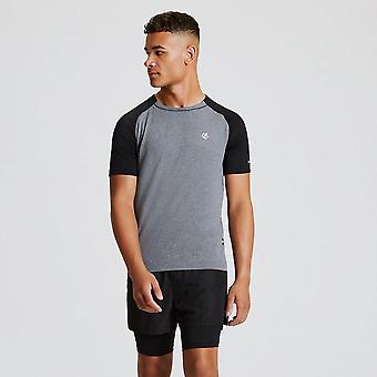 New Dare 2B Men's Peerless Short Sleeve T-Shirt Grey
