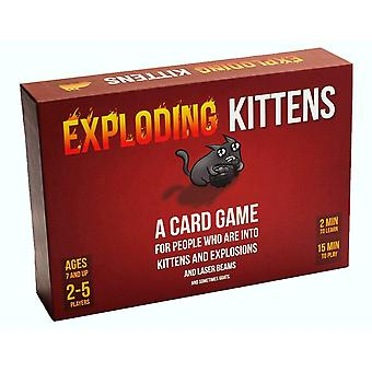 Official Exploding Kittens Game Family Card Games Party Fun Lockdown Quarantine Isolation