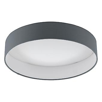 Eglo Palomaro 1 LED 405mm Dimmable Ceiling Light In Anthracite