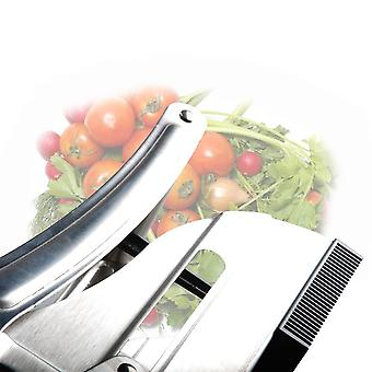 Stainless Steel Home Manual French Fries Potato Chips Strip Cutting Machine