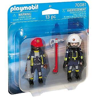 Playmobil 70081 Bomberos de Rescate Duo Pack