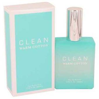 Puhdista lämmin puuvilla Clean Eau de Parfum Spray 2,14 oz (naiset) V728-434509