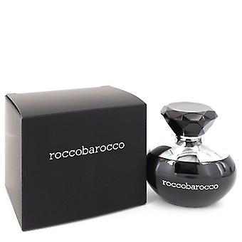 Roccobarocco Black Eau De Parfum Spray By Roccobarocco 3.4 oz Eau De Parfum Spray