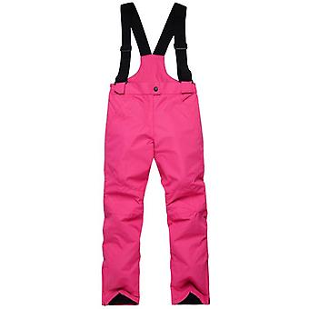 Pantalón de esquí de color sólido para niños