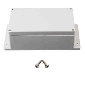 Boîte extérieure imperméable de projet de jonction électrique en plastique 240x120x75mm
