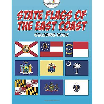State Flags of the East Coast Coloring Book by Kreative Kids - 978168