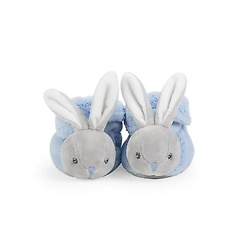 Kaloo plume booties rabbit blue