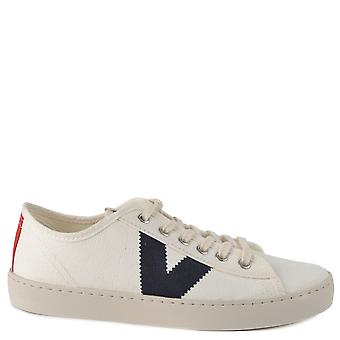 Victoria Shoes Berlin Canvas Low Top Trainers Azul