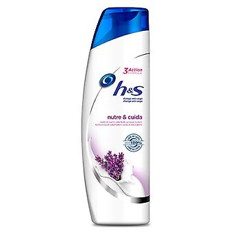 H&S Antidandruff Shampoo Nourishes and Cares 360 ml