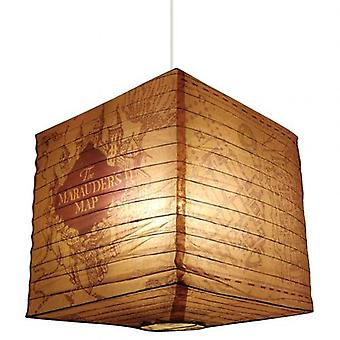 Harry Potter Paper Light Shade Marauders Map