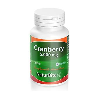 Cranberry 60 tablets of 5000mg