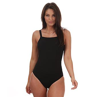Speedo Sculpture CrystalLux Costume da bagno da donna in nero