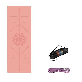 Yoga Double Layer Non-slip Mat Yoga Exercise Pad