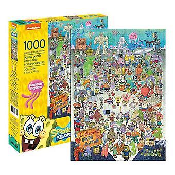 Spongebob squarepants lanciato puzzle 1000pc