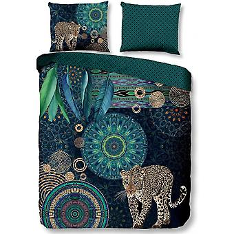 bed cover Imena 240 x 220 cm satin-aged