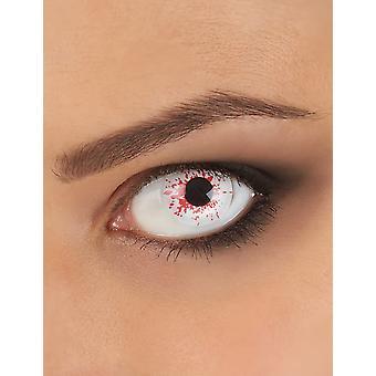 Fancy lens bebloed oog volwassen Halloween