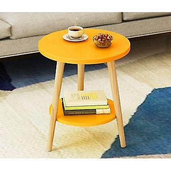 Pieni pyöreä työpöytä olohuone teepöytä