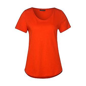 Street One Gerda T-Shirt, Cheeky Red, 34 Woman