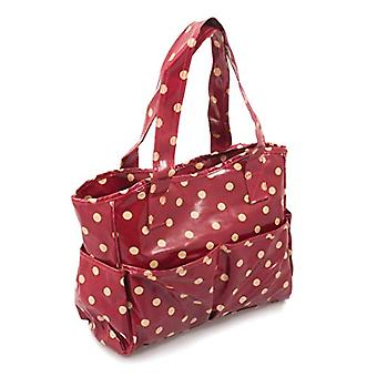 Hobby Gift - Shopping Bag, Red with White Dots
