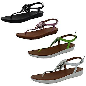 Fitflop Womens Tia Corsage Back Strap Sandal Shoes