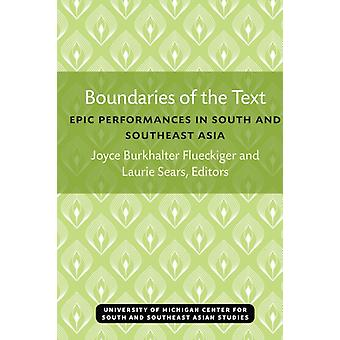 Boundaries of the Text by Edited by Joyce Flueckiger & Edited by Laurie Sears