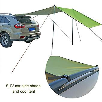 (440*200cm)1Set Car Shelter Shade Camping Side Car Roof Top Tent Awning UV Portable Camping Tent