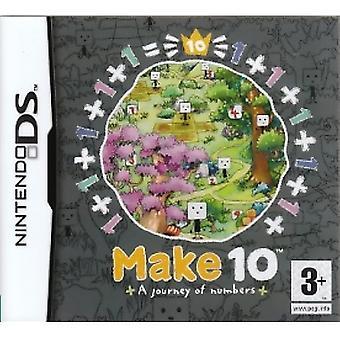 Machen Sie 10 eine Reise der Zahlen Spiel DS