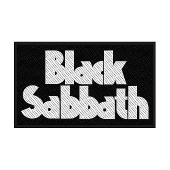 Black Sabbath - Logo Padrão Patch
