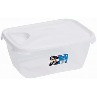 Wham Rectangular Food Storage White 6L