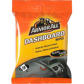 Armor All Dashboard Wipes Gloss Finish - Pack of 15